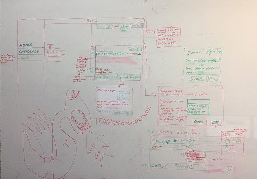 early development draft