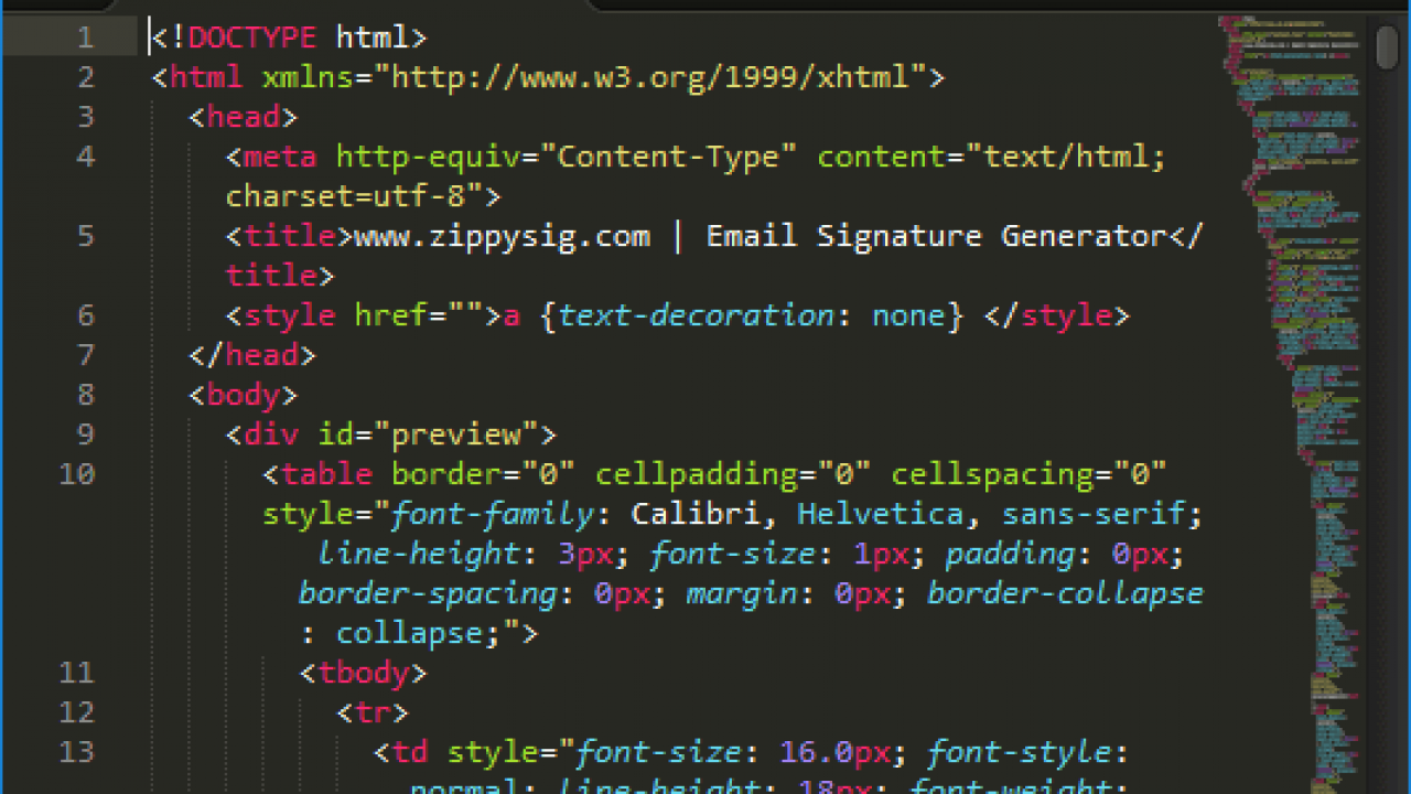 How to Create an HTML Email Signature | Gimmio