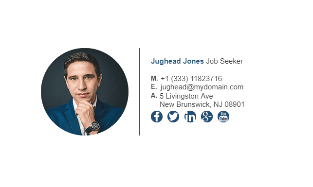 Example of well-linked social media profiles ([source](https://blog.gimm.io/wp-content/uploads/2017/11/email-signature-example-for-job-seeker-1.png))