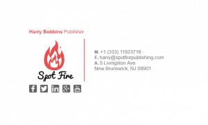 Email Signature Example for Publisher