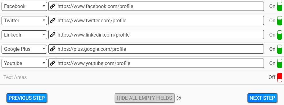 ZippySig Social Icon Details