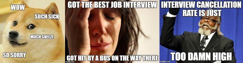 Interview Cancellation Meme