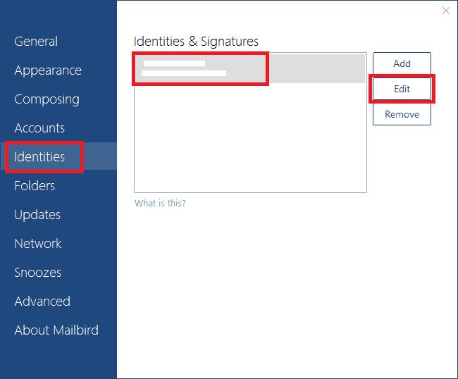 Mailbird Email Signature