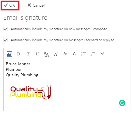 How to Add a Logo to Your Office 365 Email Signature
