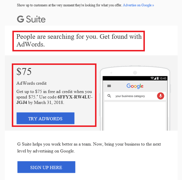 Google Personalized Marketing