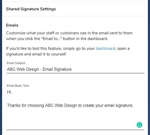 white label email signature generator