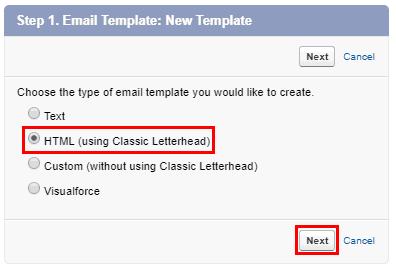 Add Email Signature Salesforce 8