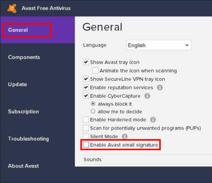 avast-user-interface-disable-email-signature