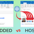 Difference Between Embedded and Hosted Email Signature Images