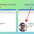 How to Fix Email Signature Images Changing Size