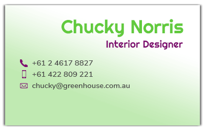 business-card-front-email
