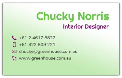business-card-front-website