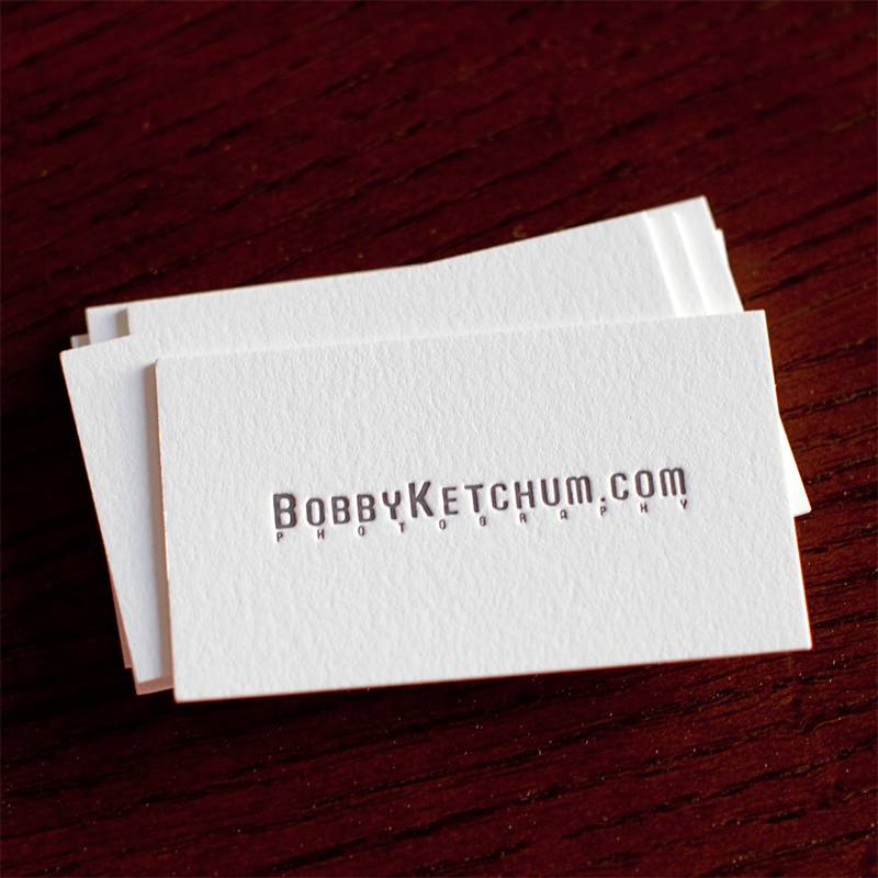 debossed-recessed-business-card-finish